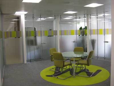 Office Furniture partitioning
