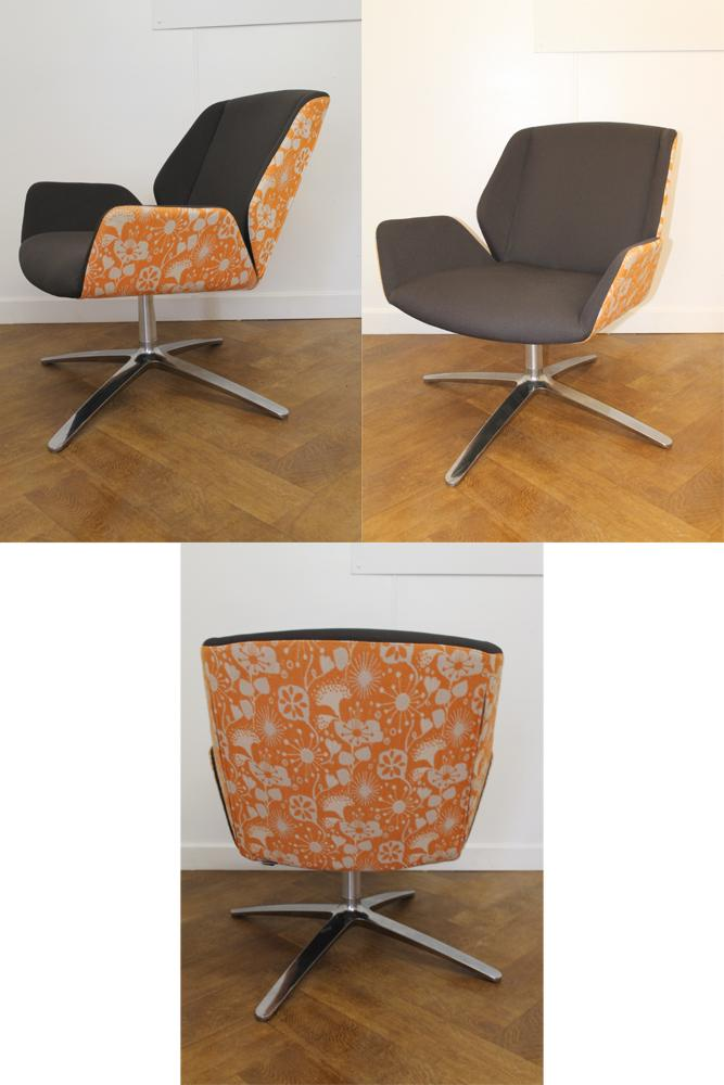 Office Clearance Wiltshire Used Boss Designs Kruze Armchair