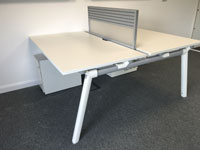 40 x Used Senator Bench desks various configuration