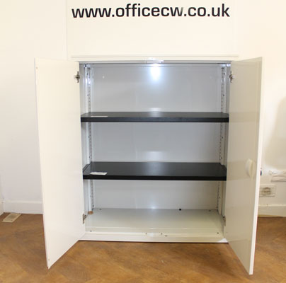 Steelcase cupboard at New and  Used Office Furniture Wiltshire