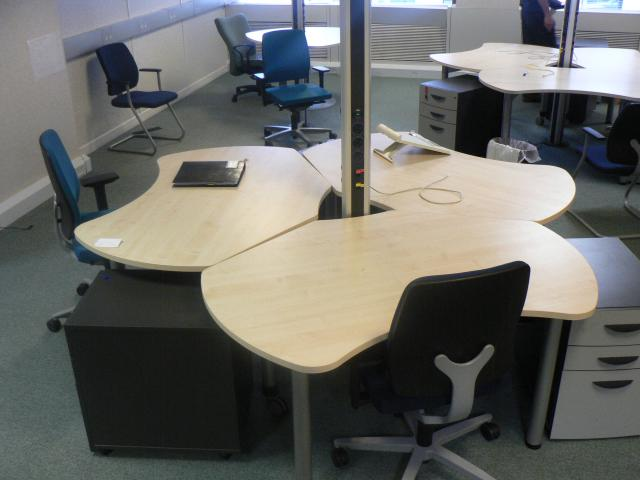 About office desks how to choose them what different - Space saving office furniture ...
