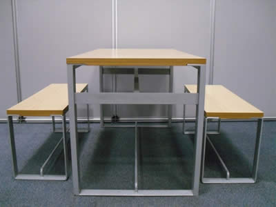 Used Canteen Tables and Chairs
